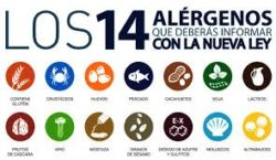 Contenido del curso online de alergenos alimientarios